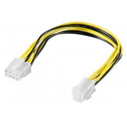 Strøm kabel til P4, 4 pol...